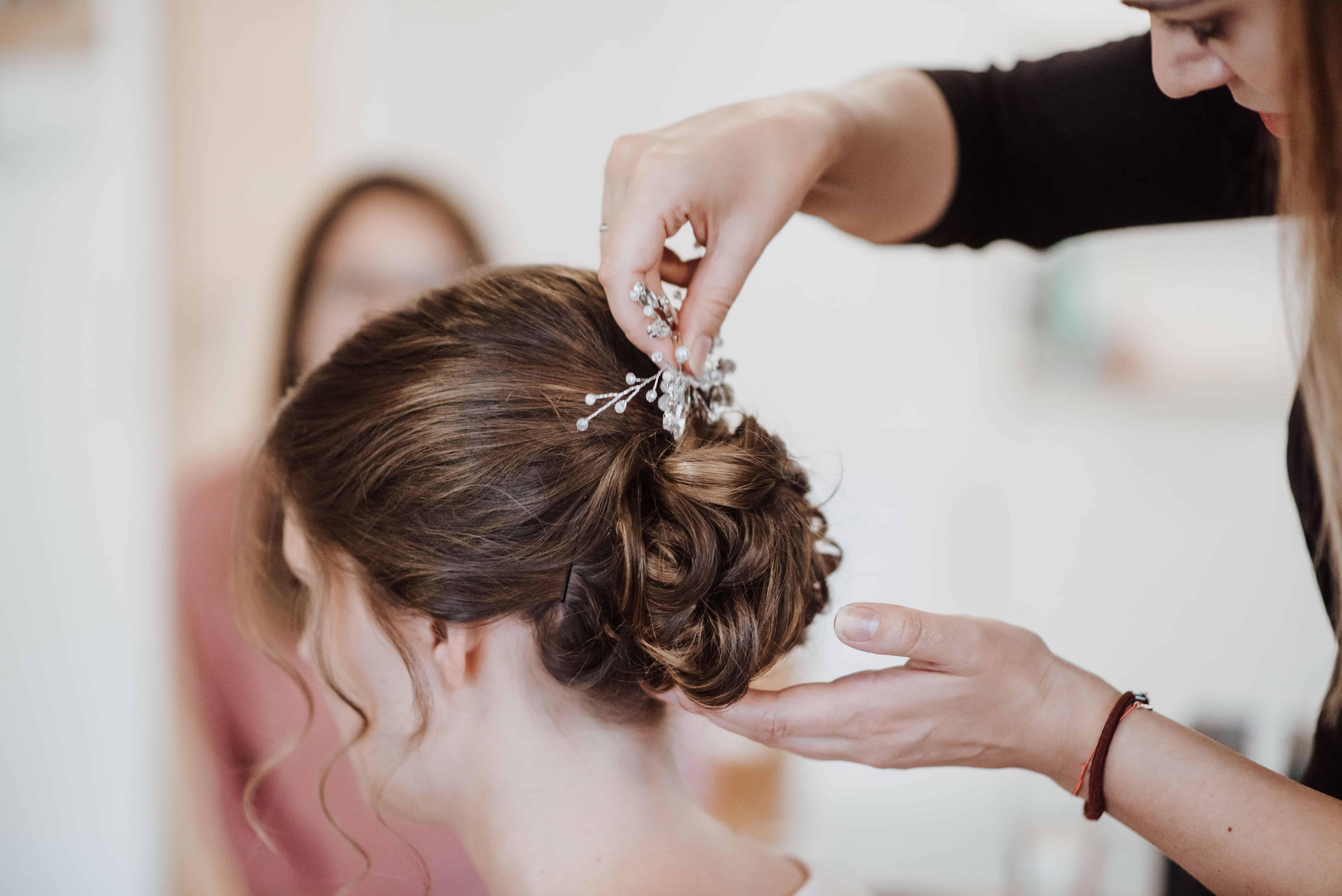 Braut Make Up Braut Frisur Mobiles Hochzeitsstyling Rope Cosmetics