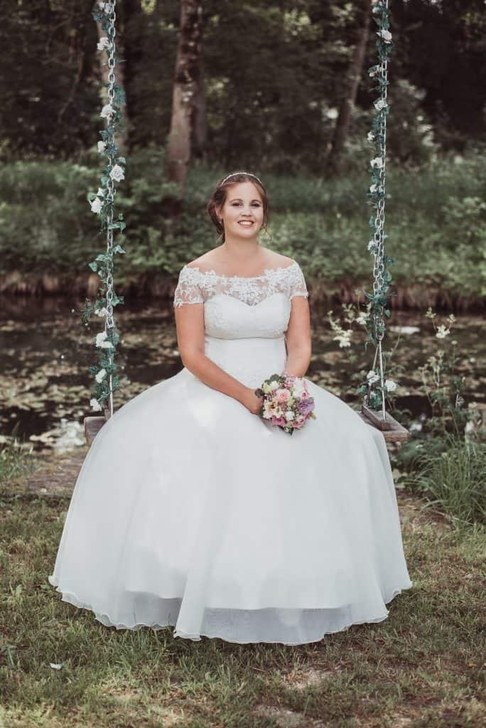 Brautmake up und Brautfrisur